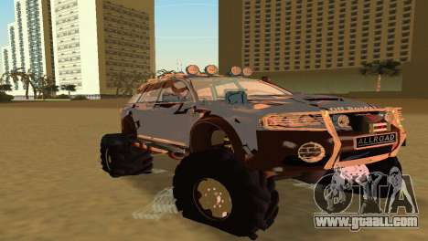 Audi Allroad Offroader for GTA Vice City left view