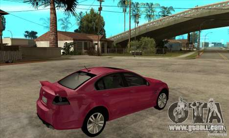 Chevrolet Lumina SS for GTA San Andreas right view