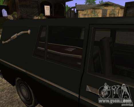 Coffin San Andreas Stories for GTA San Andreas back left view