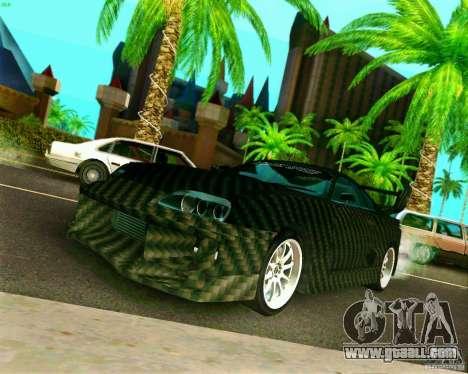 Toyota Supra Carbon for GTA San Andreas