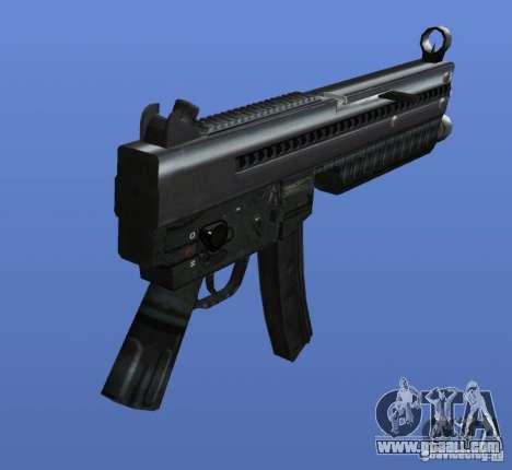 Heckler & Koch MP5 for GTA 4 second screenshot