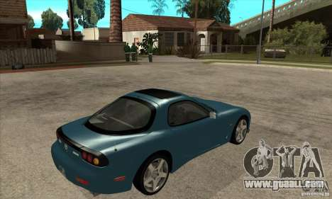 Mazda RX-7 - Stock for GTA San Andreas right view