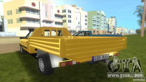 FSO Polonez Truck for GTA Vice City back left view