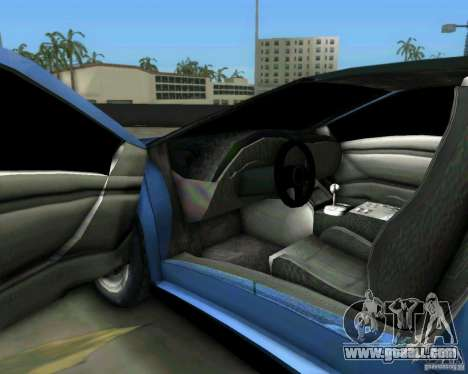 Lamborghini Diablo for GTA Vice City inner view