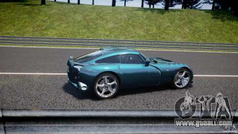 TVR Sagaris for GTA 4 interior