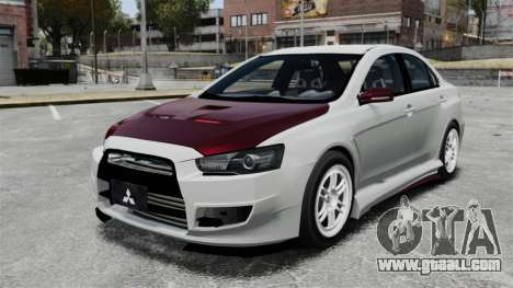 Mitsubishi Lancer Evolution X ToneBee Designs for GTA 4