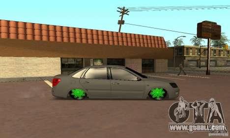 Lada Granta Dag Style for GTA San Andreas back left view