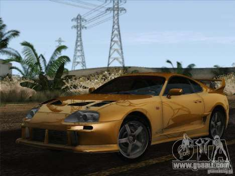 Toyota Supra TRD3000GT v2 for GTA San Andreas left view