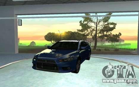 Automobile Salon for GTA San Andreas