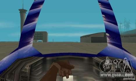 Chuckup for GTA San Andreas back view