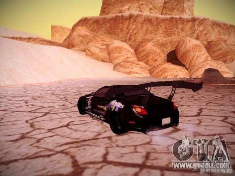 Lexus SC430 Daigo Saito for GTA San Andreas back left view
