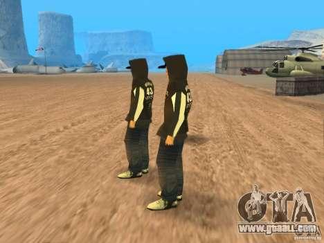 Ken Block Family for GTA San Andreas second screenshot