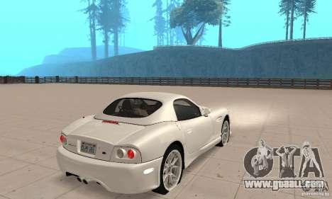 Panoz Esperante GTLM 2005 for GTA San Andreas left view