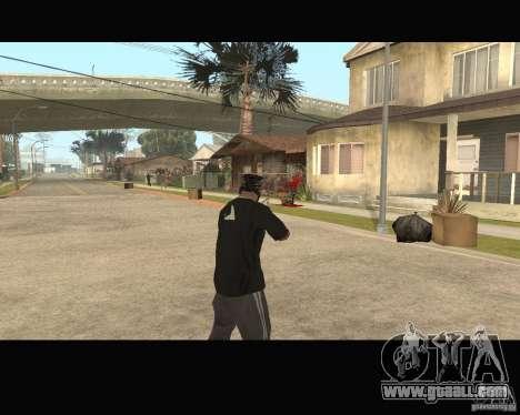 Sangue na tela v2 for GTA San Andreas third screenshot