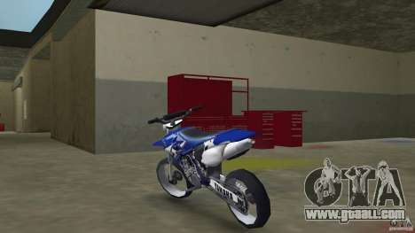 Yamaha YZ450F for GTA Vice City back left view