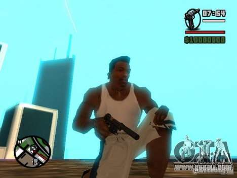 Gangster Weapon Pack for GTA San Andreas second screenshot