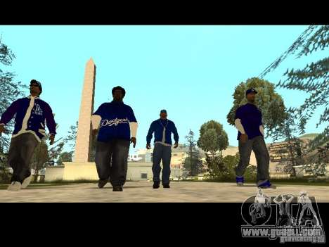 Piru Street Crips for GTA San Andreas eleventh screenshot
