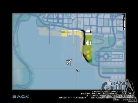 Luxville-map of Point Blank for GTA San Andreas