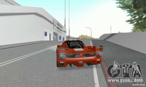 Ferrari FXX for GTA San Andreas left view