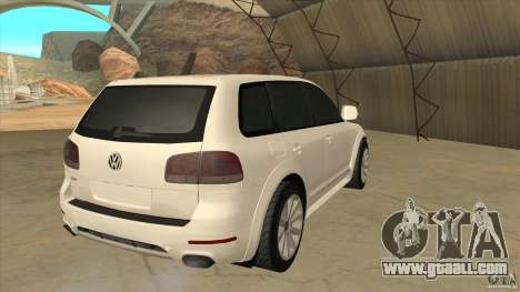 Volkswagen Touareg R50 for GTA San Andreas right view