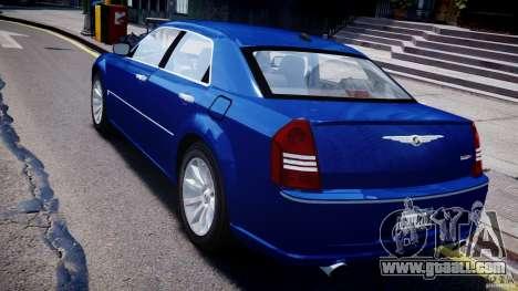 Chrysler 300C SRT8 Tuning for GTA 4 back left view