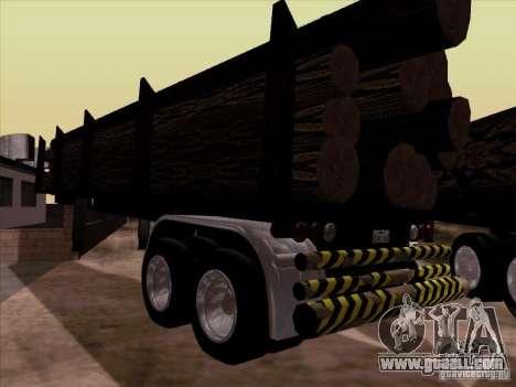 Kenworth K100 Aerodyne trailer for GTA San Andreas
