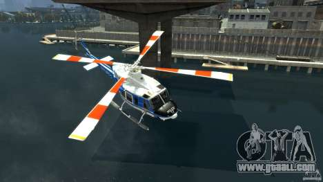 Bell412/NYPD Air Sea Rescue Helicopter for GTA 4