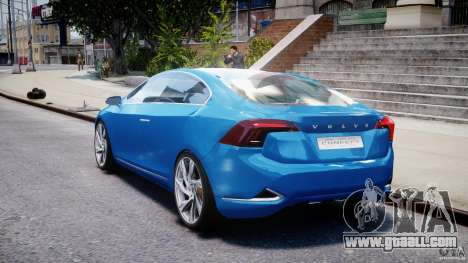 Volvo S60 Concept for GTA 4 back left view