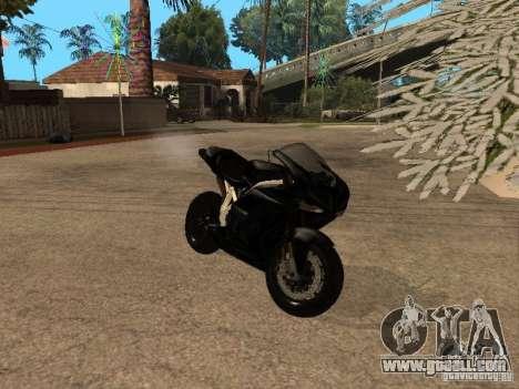 Ducati RS09 for GTA San Andreas