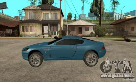 Aston Martin DB9 from NFS MW for GTA San Andreas left view