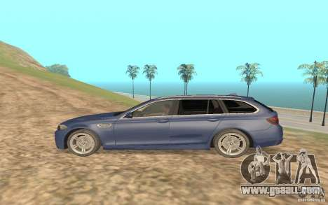 BMW M5 F11 Touring for GTA San Andreas right view