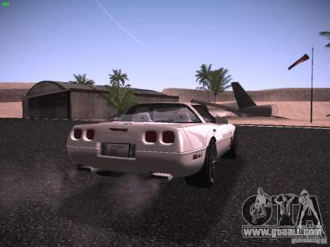 Chevrolet Corvette Grand Sport for GTA San Andreas right view