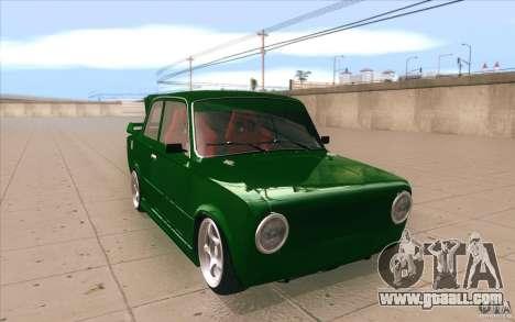 Vaz-2101 Lada Sport for GTA San Andreas back view