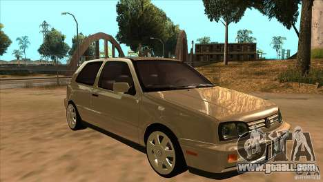 Volkswagen Golf MK3 VR6 for GTA San Andreas back view