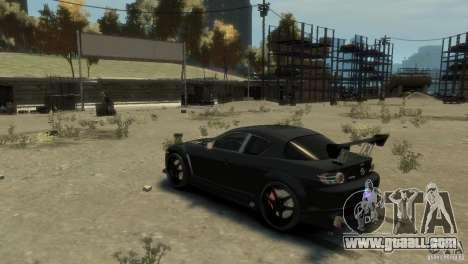MAZDA RX8 for GTA 4 right view