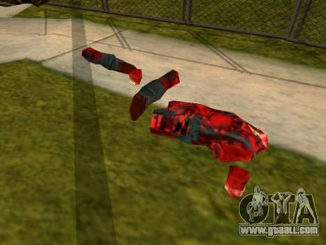 Chainsaw Massacre v. 2.0 for GTA San Andreas