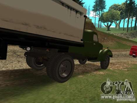 ZIL 164P for GTA San Andreas back left view