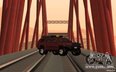 Chevrolet Tahoe for GTA San Andreas