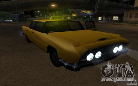 Oceanic Cab for GTA San Andreas right view