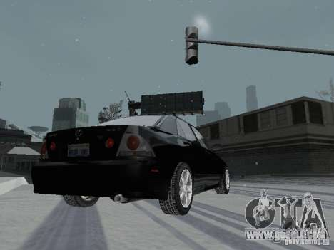 Lexus IS300 for GTA San Andreas side view
