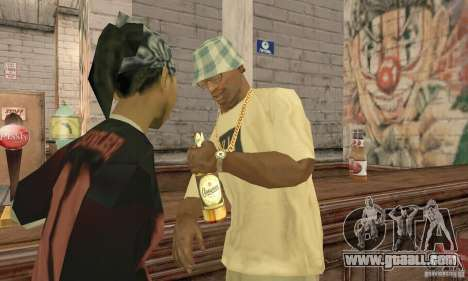 Beer SLAVUTYCH for GTA San Andreas second screenshot