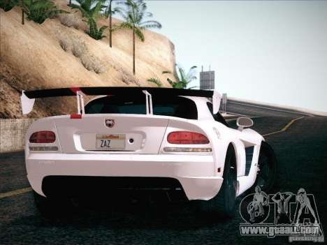 Dodge Viper SRT-10 ACR for GTA San Andreas