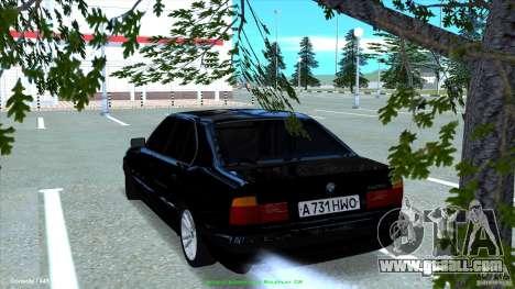 BMW E34 V1.0 for GTA San Andreas left view