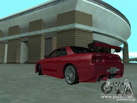 Nissan Skyline R32 Tuned for GTA San Andreas back left view