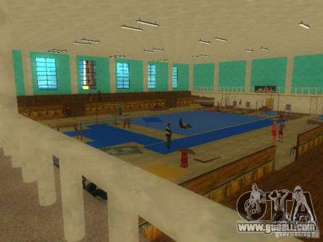 Tricking Gym for GTA San Andreas second screenshot