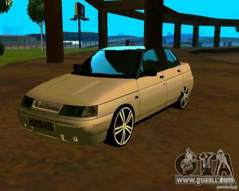 VAZ-2110 car Tuning for GTA San Andreas