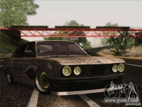 BMW E28 525E RatStyle for GTA San Andreas