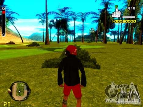 Skin bum v1 for GTA San Andreas fifth screenshot