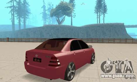 Toyota Corolla Tuning for GTA San Andreas left view