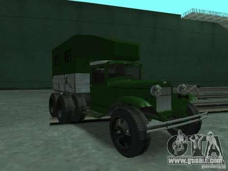 GAZ-AAA for GTA San Andreas